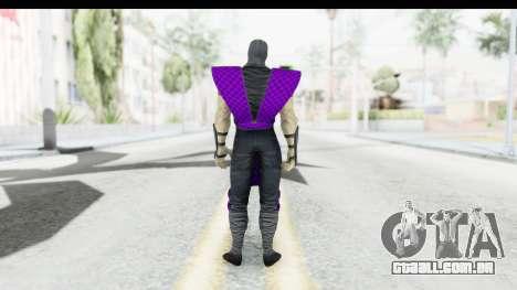 Rain MK2 para GTA San Andreas terceira tela