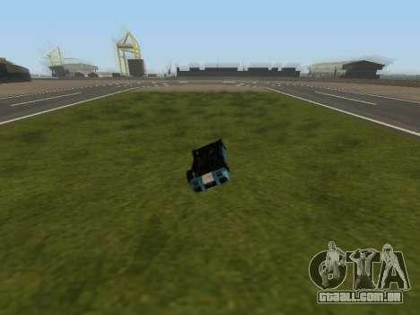 Carro-flip sem perder velocidade para GTA San Andreas