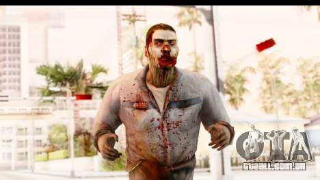 Left 4 Dead 2 - Zombie Worker para GTA San Andreas