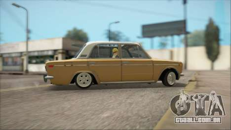 VAZ 2106 Summer para GTA San Andreas vista interior