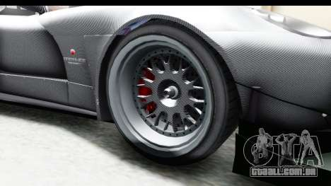 GTA 5 Bravado Banshee 900R Carbon Mip Map IVF para GTA San Andreas vista traseira