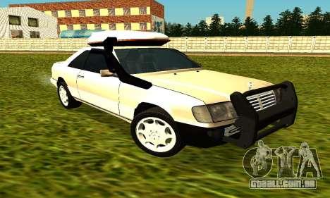 Mercedes Benz 320E para GTA San Andreas