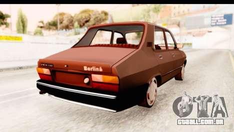 Dacia 1310 LI para GTA San Andreas traseira esquerda vista