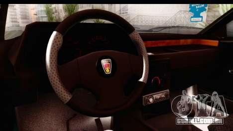 Rover 220 para GTA San Andreas vista interior