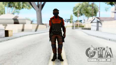 Homefront The Revolution - KPA v3 Red para GTA San Andreas segunda tela