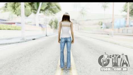 Silverblk White Top para GTA San Andreas terceira tela