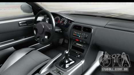 Nissan Silvia S14 Low and Slow para GTA San Andreas vista interior