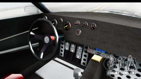 GTA 5 Lampadati Tropos Rallye para GTA San Andreas vista interior