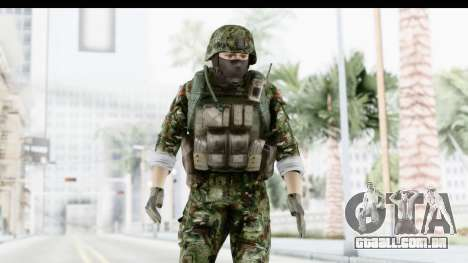 Global Warfare Balkan para GTA San Andreas