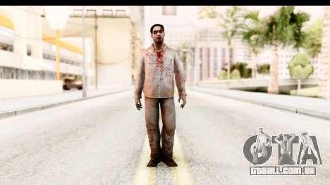 Left 4 Dead 2 - Zombie Shirt 1 para GTA San Andreas segunda tela