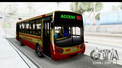 Metalpar Tronador 2 Puertas Linea 324 para GTA San Andreas vista direita