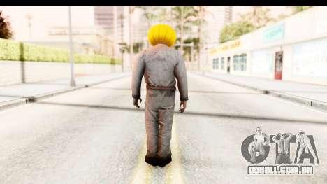 Left 4 Dead 2 - Zombie Pumpkin para GTA San Andreas terceira tela