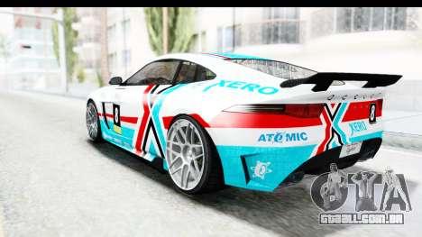 GTA 5 Ocelot Lynx IVF PJ para as rodas de GTA San Andreas