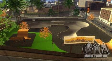 Novas texturas de um skate Park e hospital para GTA San Andreas