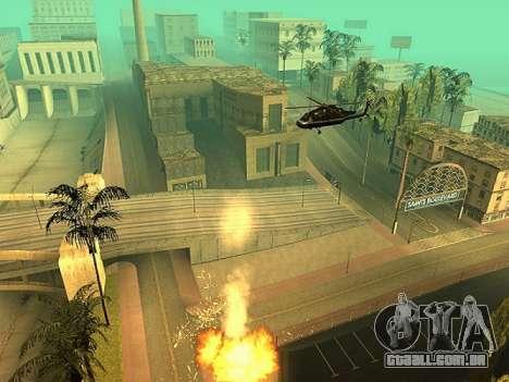 A adição de armas para o ar técnica para GTA San Andreas