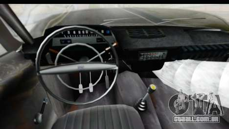 IZH Kombi v1 para GTA San Andreas vista interior