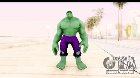 Marvel Heroes - Hulk para GTA San Andreas segunda tela