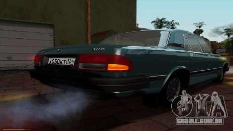 GAZ 3110 Volga para GTA San Andreas vista superior