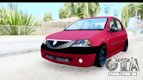 Dacia Logan Editie para GTA San Andreas