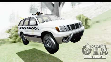 GTA 5 Canis Seminole Taxi Milspec para GTA San Andreas