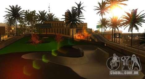 Novas texturas de um skate Park e hospital para GTA San Andreas quinto tela