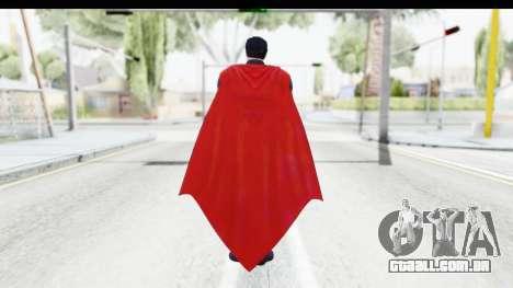 Injustice Gods Among - Superman Earth 2 para GTA San Andreas terceira tela