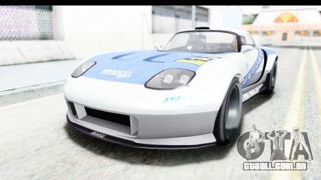 GTA 5 Bravado Banshee 900R Carbon Mip Map para GTA San Andreas interior