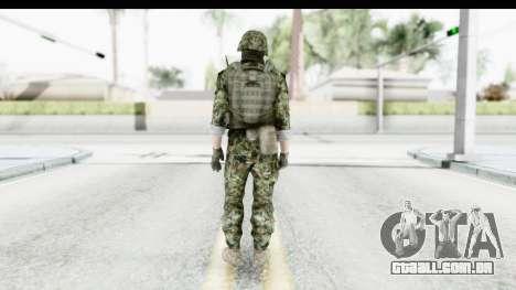 Global Warfare Balkan para GTA San Andreas terceira tela