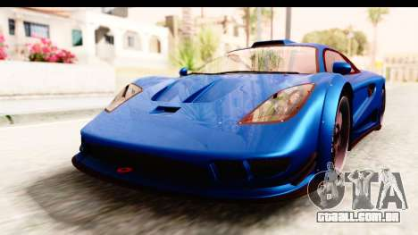 GTA 5 Progen Tyrus IVF para GTA San Andreas vista direita