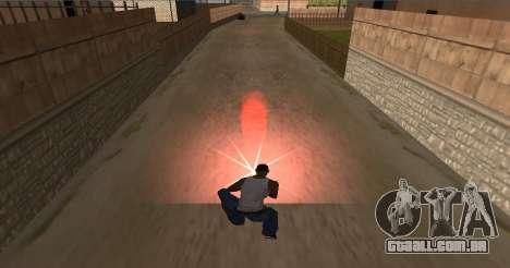 Instalar o fogo para GTA San Andreas