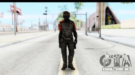 Homefront The Revolution - KPA v4 Camo para GTA San Andreas segunda tela