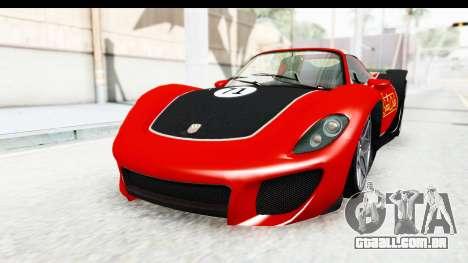 GTA 5 Pfister 811 SA Lights para vista lateral GTA San Andreas