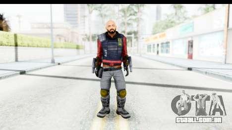 Deadshot (Will Smith) para GTA San Andreas segunda tela