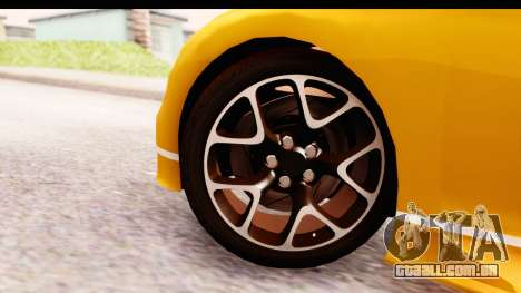 Bugatti Chiron 2017 v2.0 Updated para GTA San Andreas traseira esquerda vista