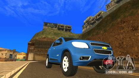Chevrolet TrailBlazer 2015 LTZ para GTA San Andreas esquerda vista