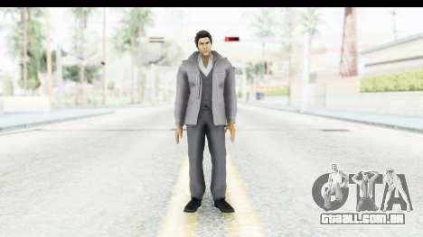 Yakuza 5 Kazuma Kiryu Fukuoka para GTA San Andreas segunda tela