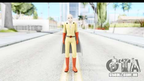 Saitama para GTA San Andreas segunda tela