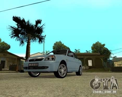 Lada Priora Arménia para GTA San Andreas