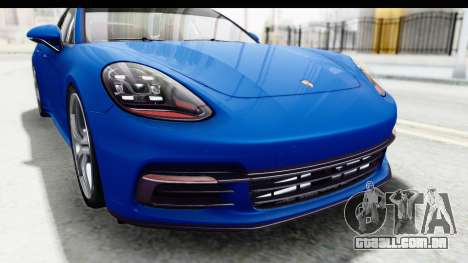 Porsche Panamera 4S 2017 v1 para GTA San Andreas vista interior