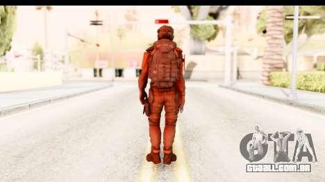 Homefront The Revolution - KPA v1 Red para GTA San Andreas terceira tela