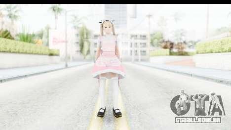 DoA 5: LR - Marie Rose Maid Remade para GTA San Andreas segunda tela