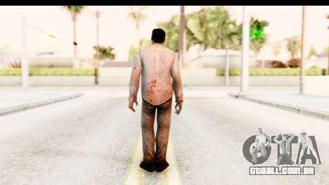 Left 4 Dead 2 - Zombie Shirt 1 para GTA San Andreas terceira tela