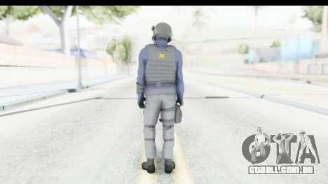 Quantum Break Monarch Operators para GTA San Andreas terceira tela