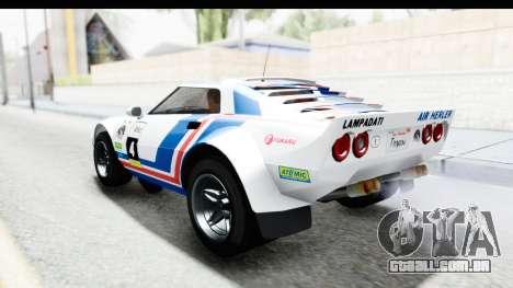 GTA 5 Lampadati Tropos IVF para as rodas de GTA San Andreas