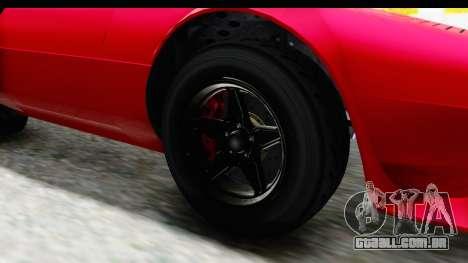 GTA 5 Lampadati Tropos IVF para GTA San Andreas vista traseira