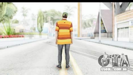 Skin Male Random 3 GTA Online para GTA San Andreas terceira tela