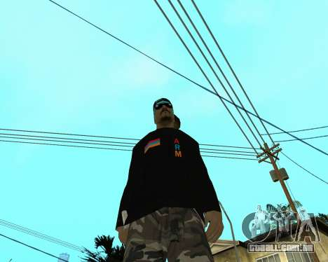 Armenian Skin para GTA San Andreas terceira tela