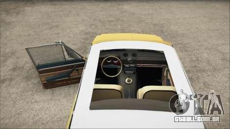 VAZ 2106 Summer para GTA San Andreas traseira esquerda vista