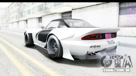 GTA 5 Bravado Banshee 900R Carbon Mip Map para GTA San Andreas vista inferior