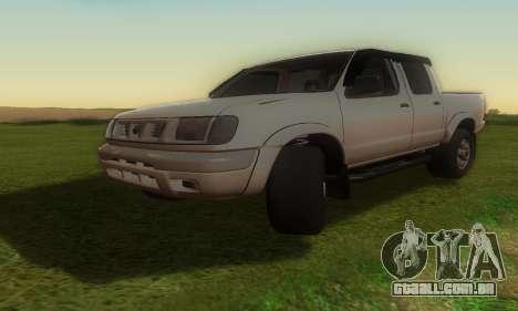 Nissan Frontier para GTA San Andreas